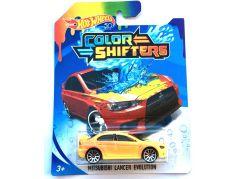 Hot Wheels Angličák Color Shifters Mitsubishi Lancer Evolution