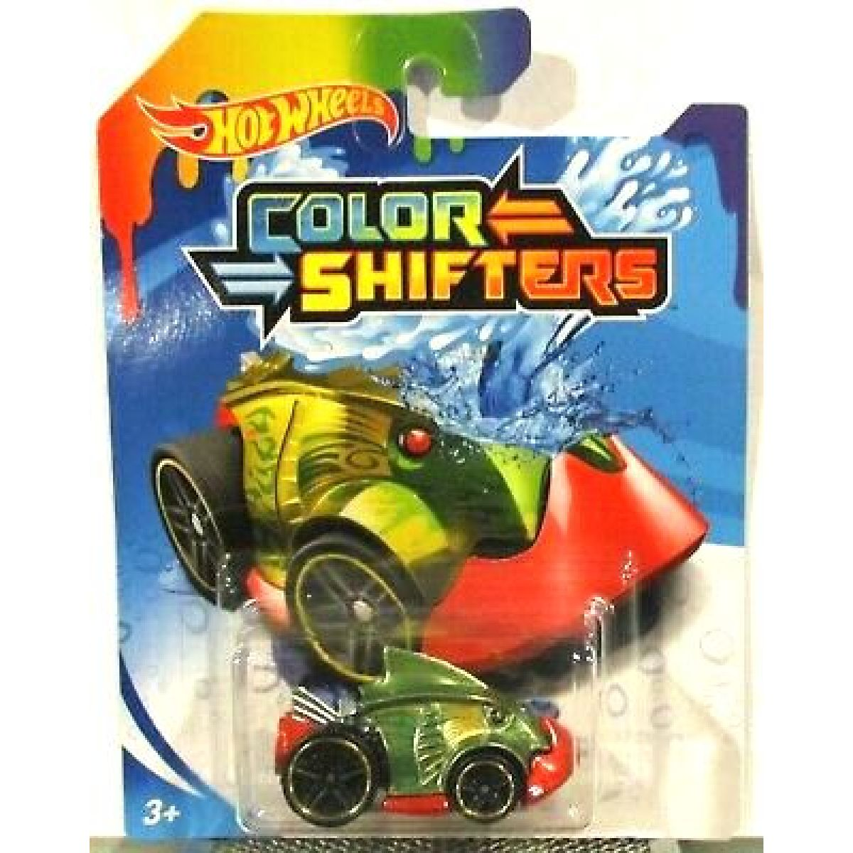 Hot Wheels Angličák Color Shifters Piranha Terror