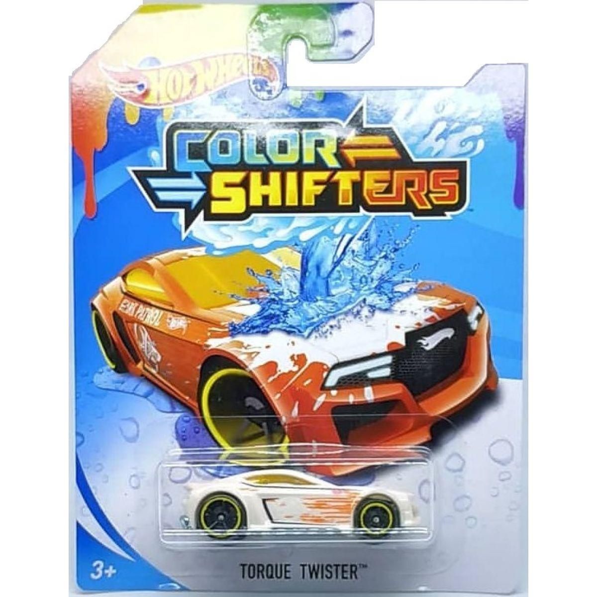 Hot Wheels Angličák Color Shifters Torque Twister