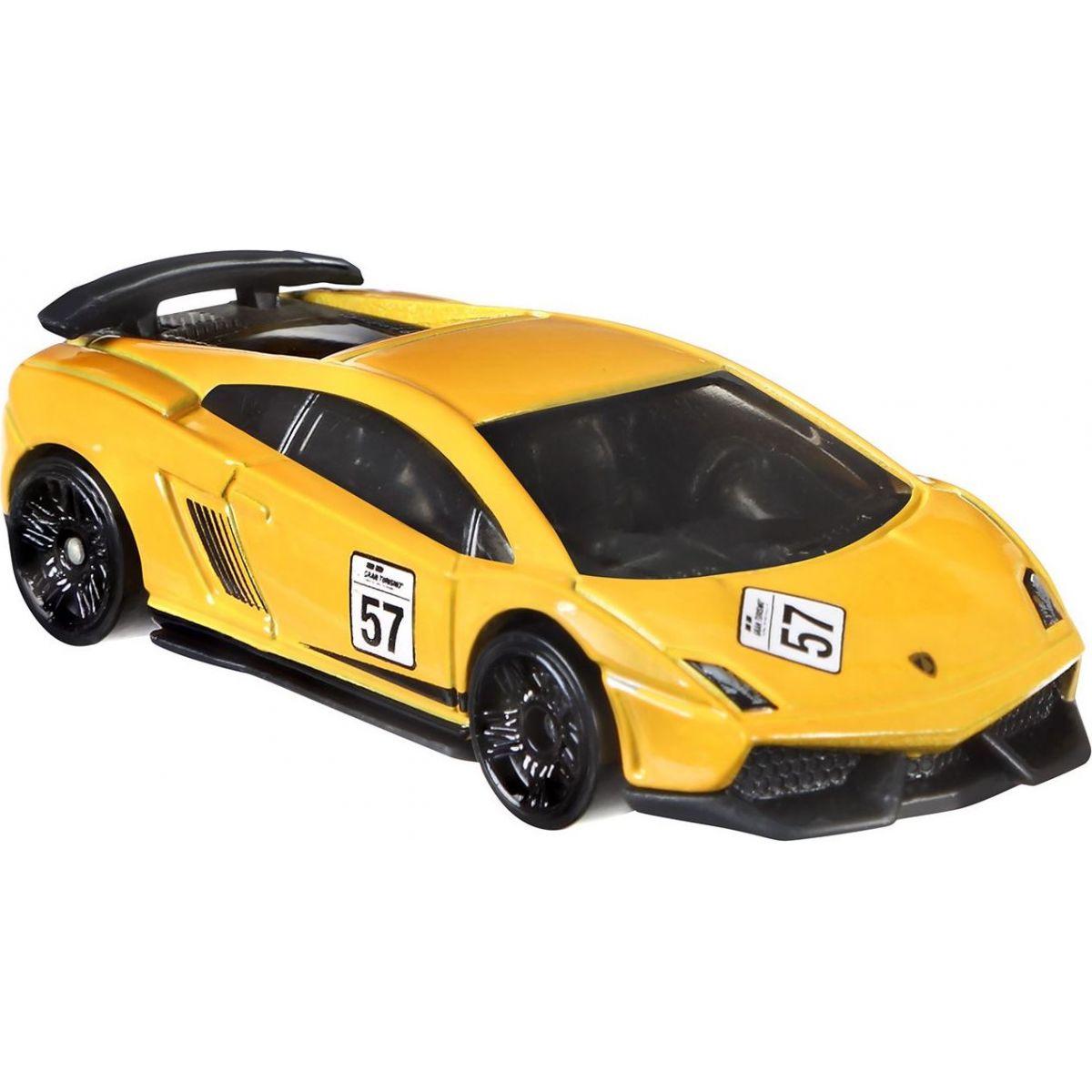 Hot Wheels angličák Grand Turismo Lamborghini Gallardo Superleggera