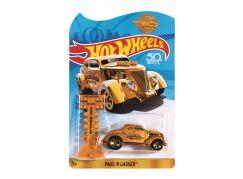 Hot Wheels Angličák Pass N Gasser zlatý