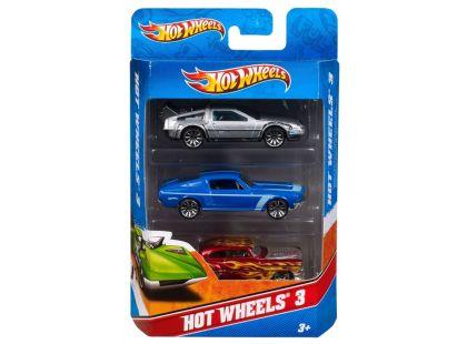 Hot Wheels Autíčka 3ks