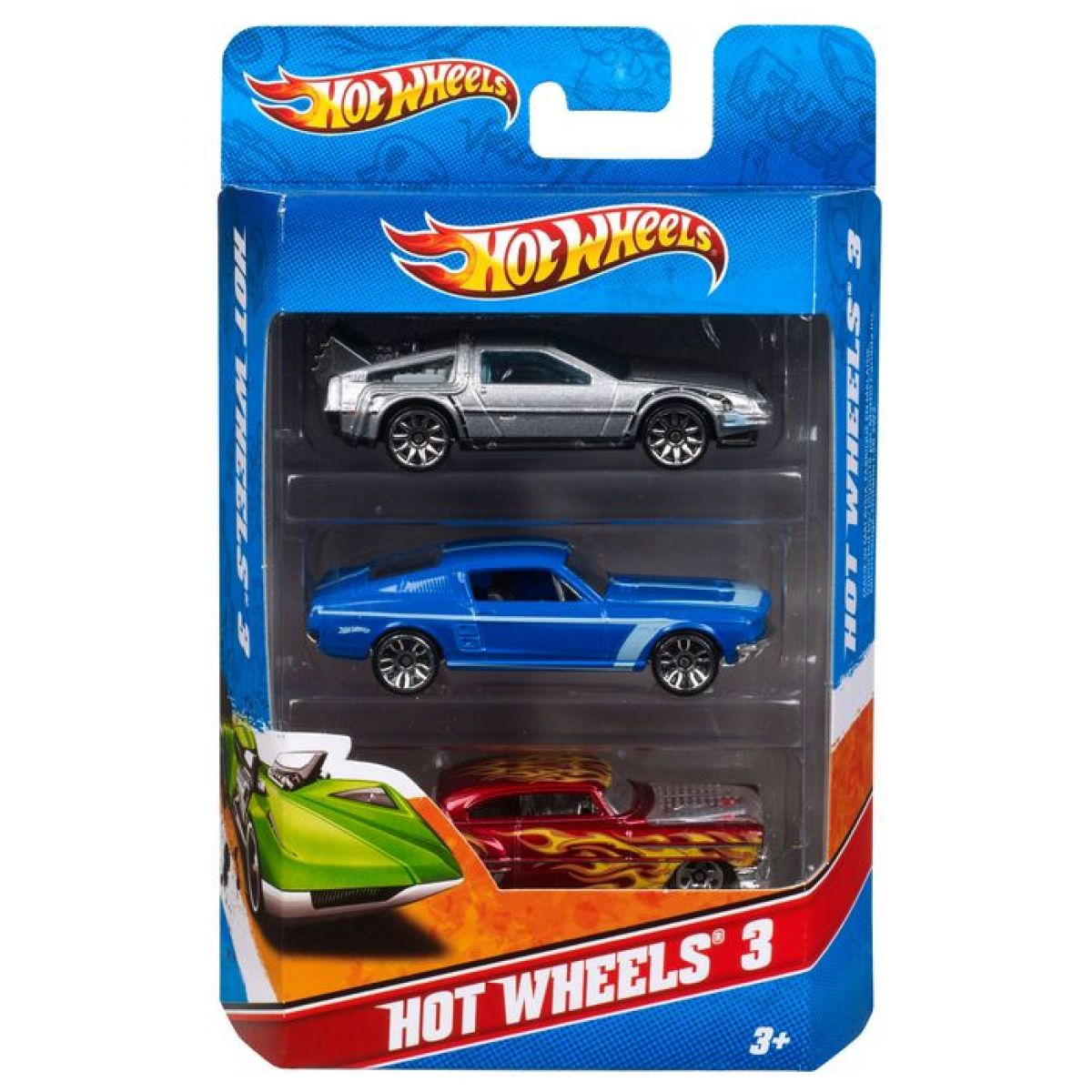 Hot Wheels Autíčka 3ks