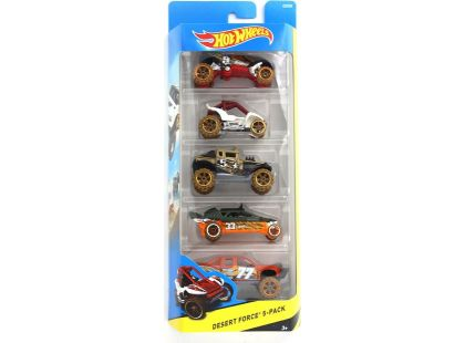 Hot Wheels Autíčka 5ks