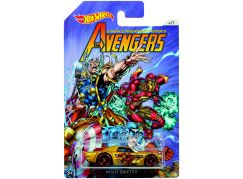 Hot Wheels Avengers Tématické auto Night Shifter