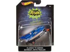 Hot Wheels Batman Prémiové auto 1:50 Batboat