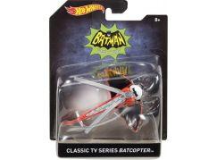 Hot Wheels Batman Prémiové auto 1:50 Batcopter