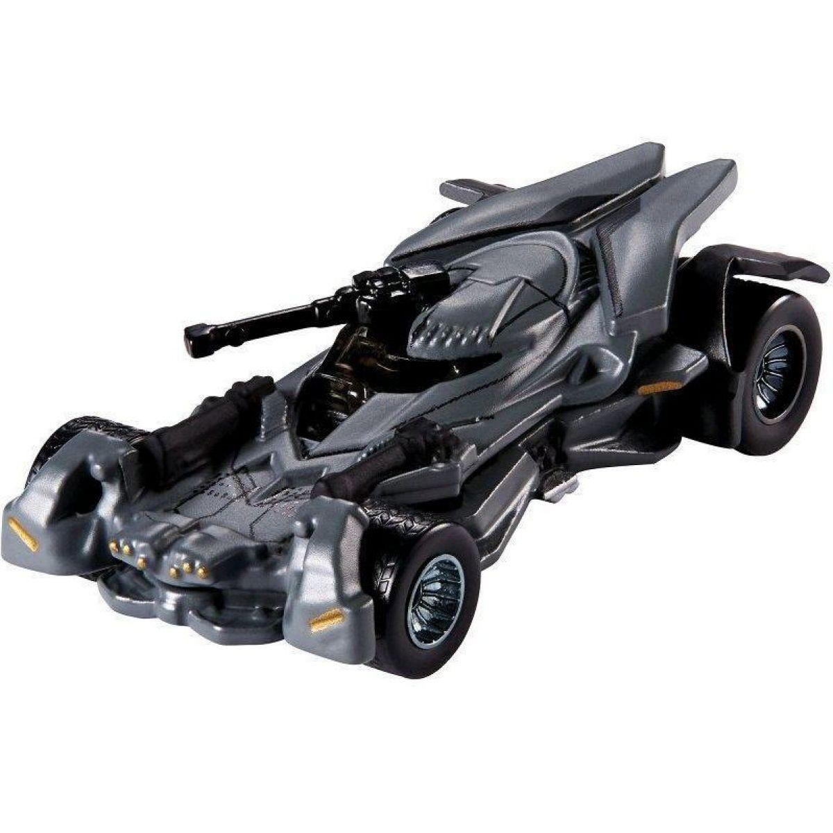 Hot Wheels Batman Prémiové auto 1:50 Justice League Batmobile