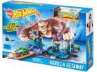 Hot Wheels BGH87 Dráha závodní překážky - Gorilla Getaway 2