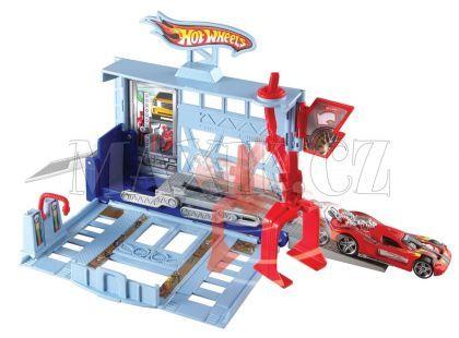 Hot Wheels BGH94 Set městem na kolech - Zdvihací garáž
