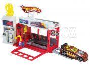 Hot Wheels BGH94 Set městem na kolech - Závodní hasičská stanice