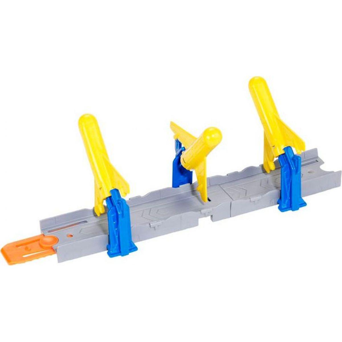 Hot Wheels BGX66 Track Builder základní set - Odpal rakety