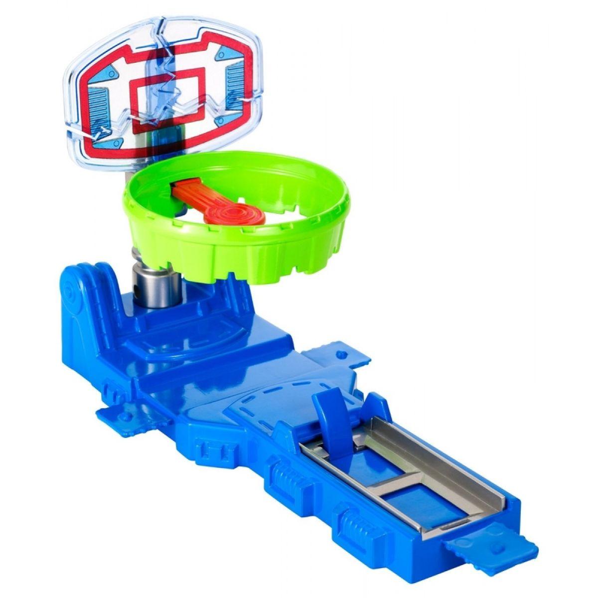Hot Wheels BGX75 Track Builder střední set - Tref se do koše