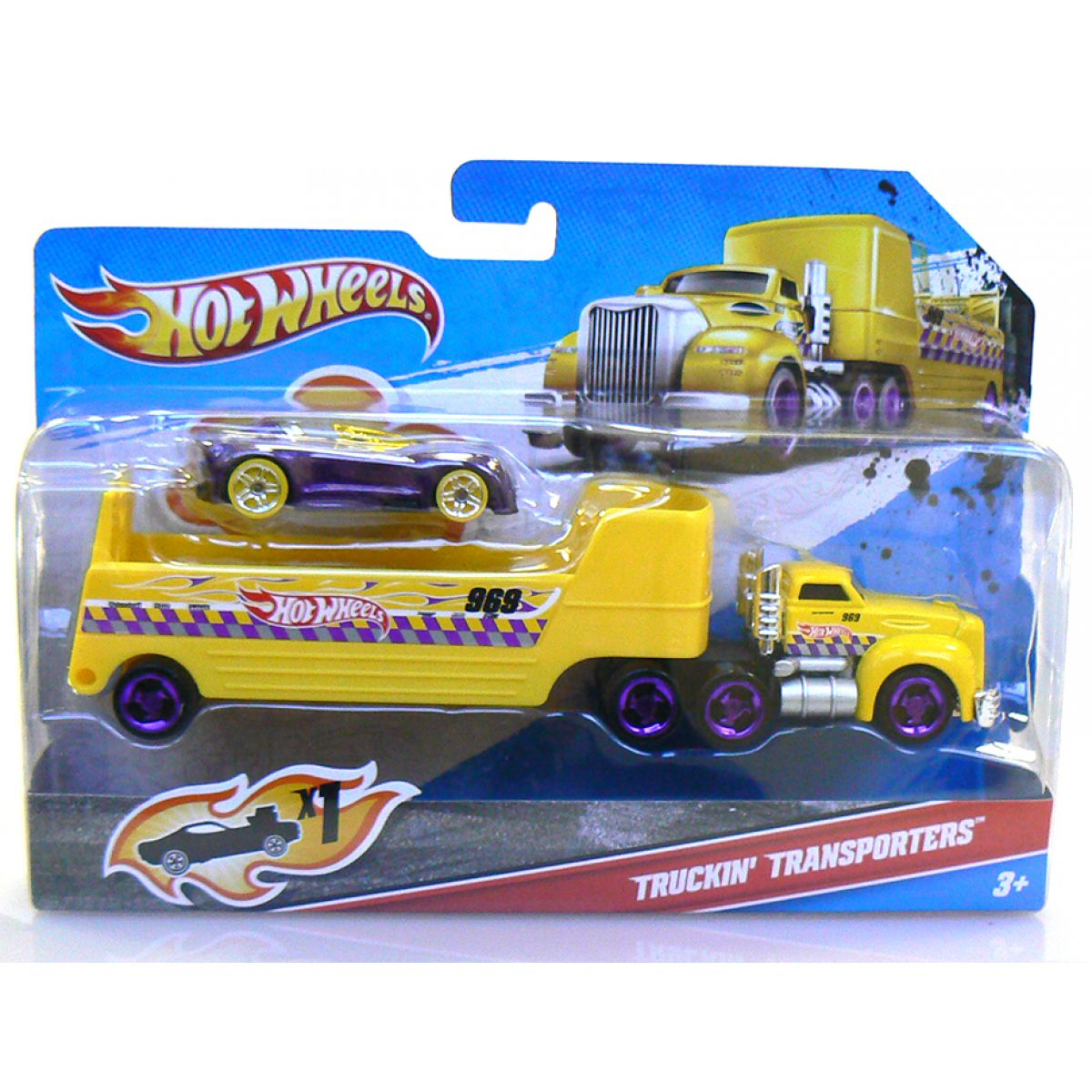 Hot Wheels C0628 Transportér - W4671