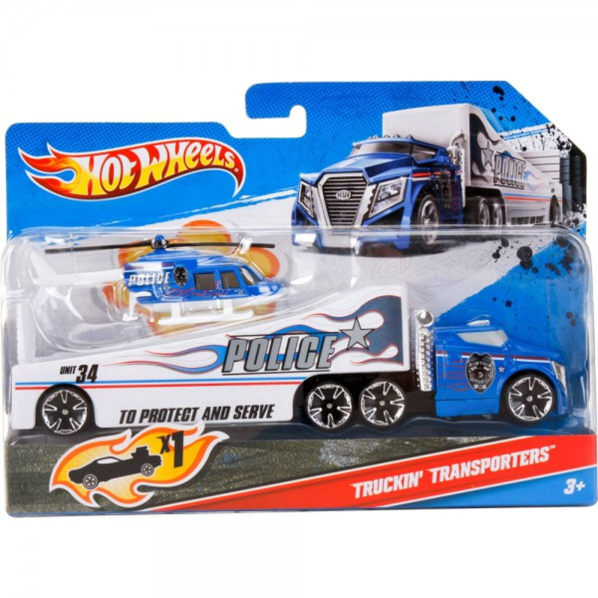 Hot Wheels C0628 Transportér - W4676