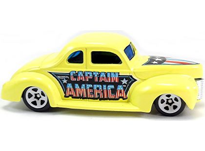 Hot Wheels Captain America angličák - 40 Ford Coupe