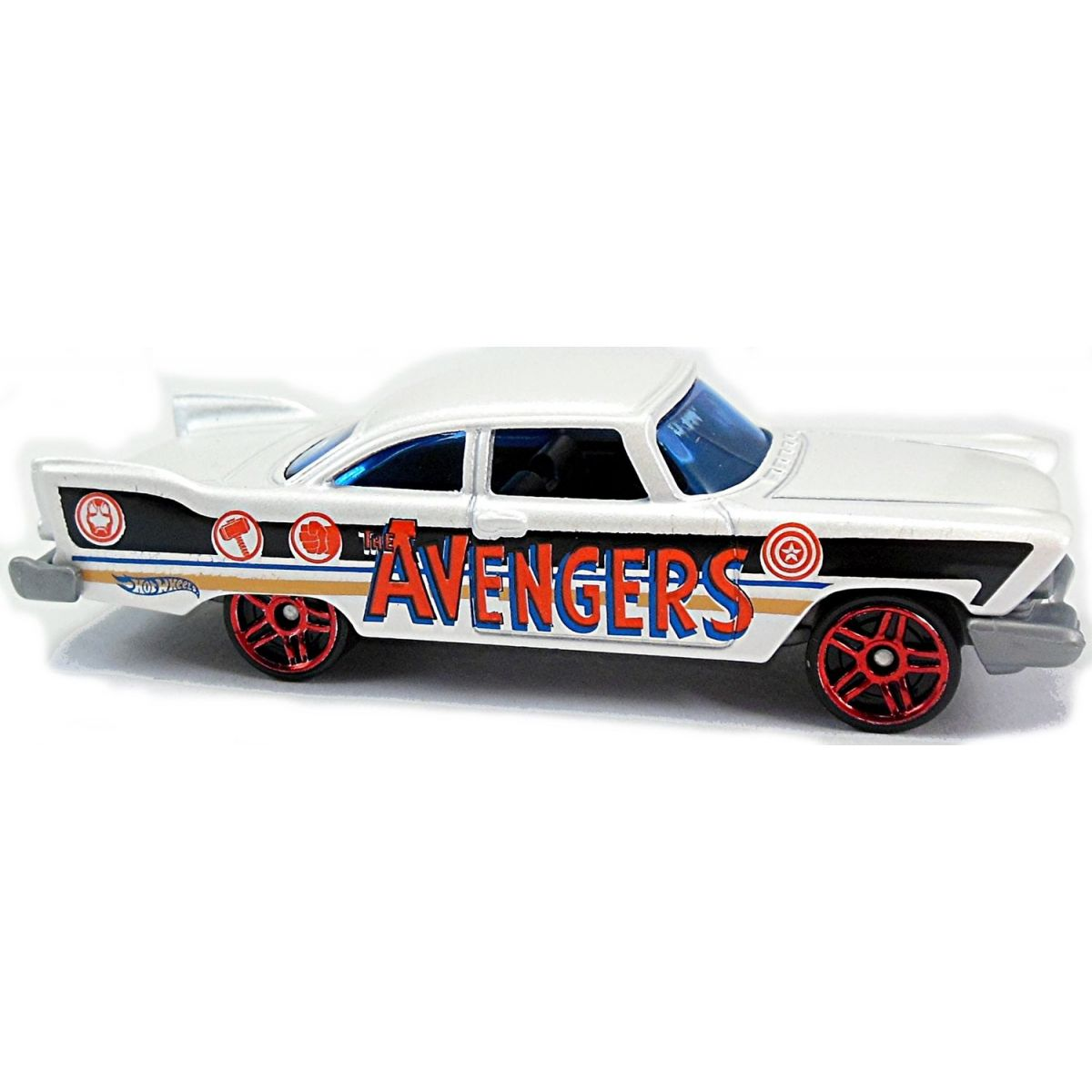 Hot Wheels Captain America angličák - 57 Plymouth Fury