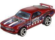 Hot Wheels Captain America angličák - 70 Ford Mustang Mach1