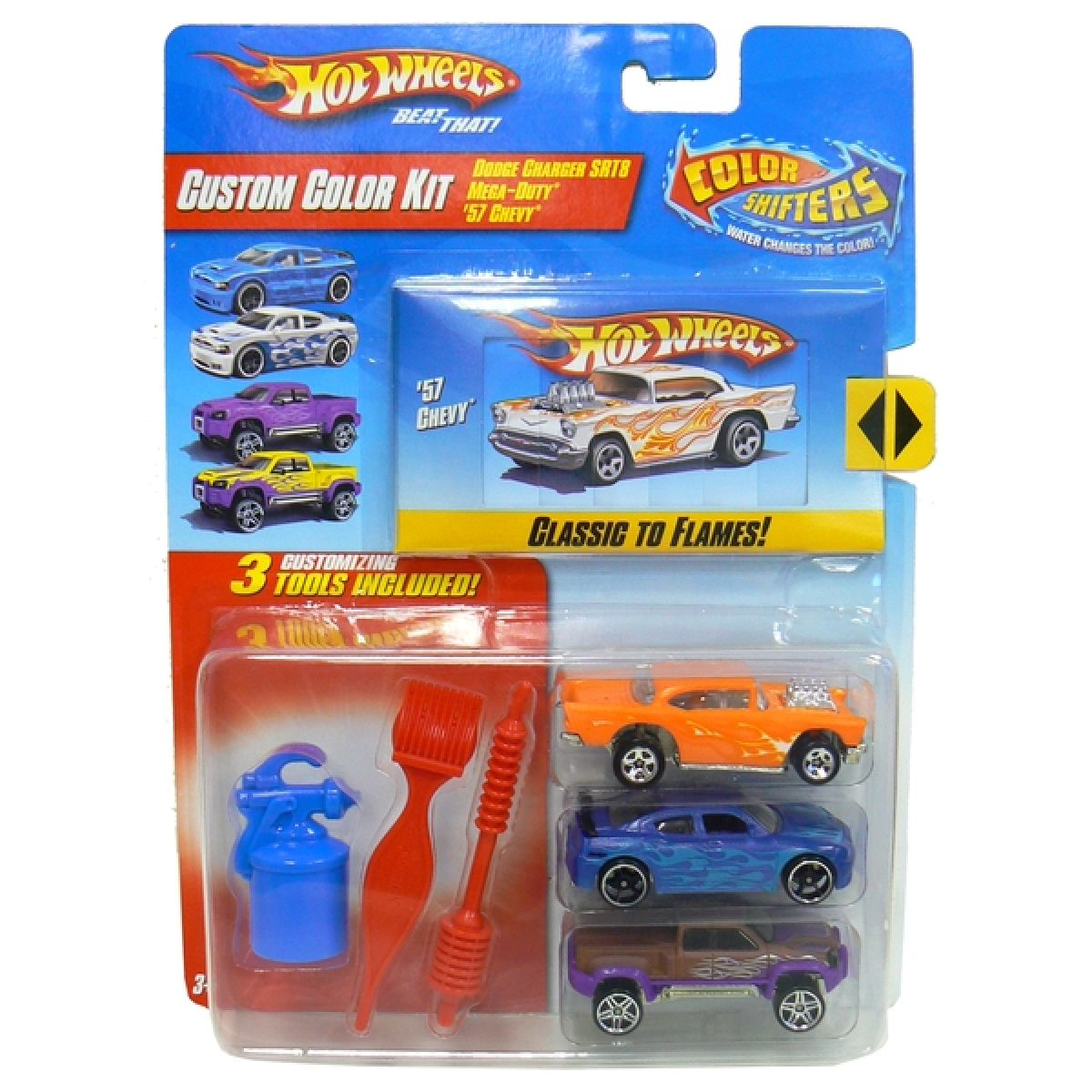 Hot Wheels Custom Color Kit - Classic to flames