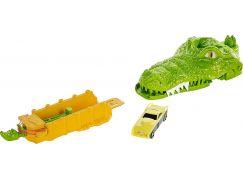 Hot Wheels dráha se zvířaty Krokodýl