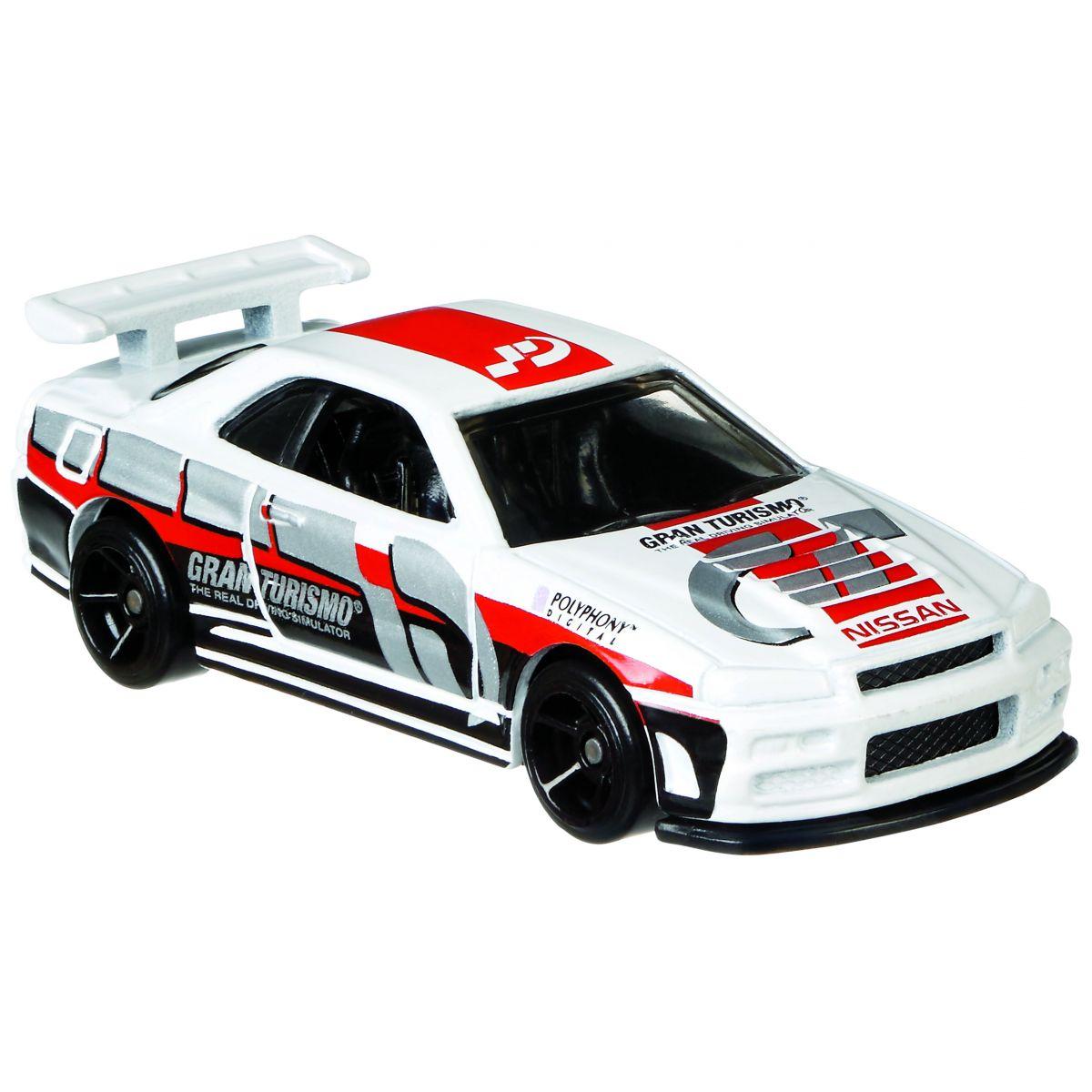 Hot Wheels Gran Turismo Tématické auto Nissan Skyline GT-R