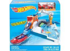 Hot Wheels Klasická hrací sada Shipyard Escape