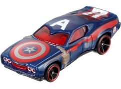 Hot Wheels Marvel kultovní angličák Captain America