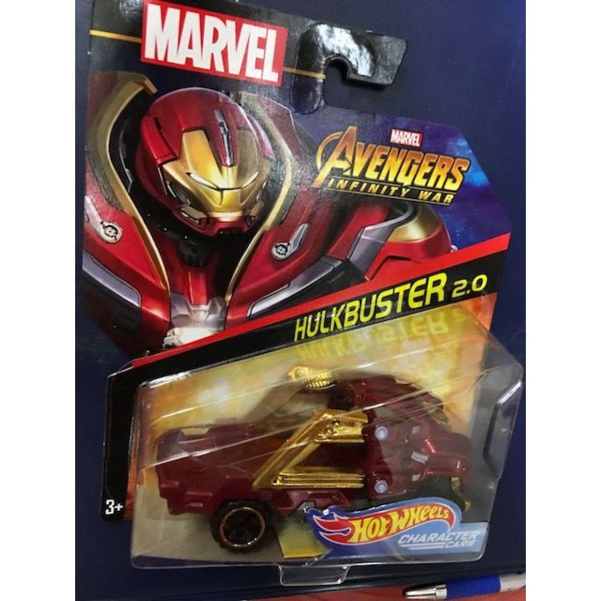Hot Wheels Marvel kultovní angličák Hulkbuster 2.0