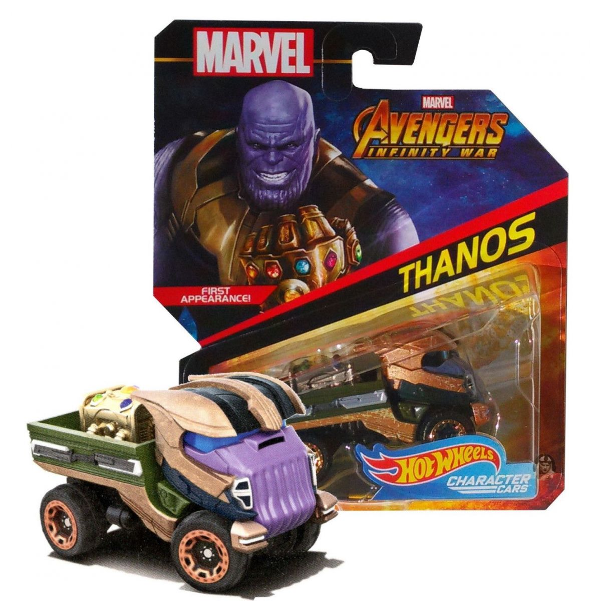 Hot Wheels Marvel kultovní angličák Thanos