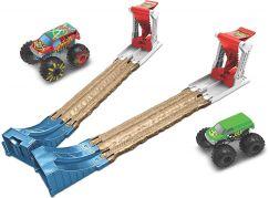Hot Wheels Monster trucks dvojitá destrukce herní set