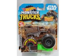 Hot Wheels Monster trucks kaskadérské kousky Chewbacca