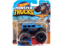 Hot Wheels Monster trucks kaskadérské kousky Jeep