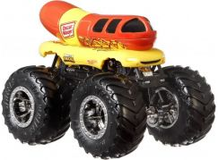 Hot Wheels Monster trucks kaskadérské kousky Oscar Mayer