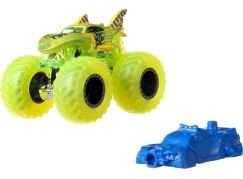 Hot Wheels Monster trucks kaskadérské kousky Shark Wreak