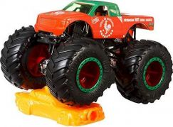Hot Wheels Monster trucks kaskadérské kousky Sriracha