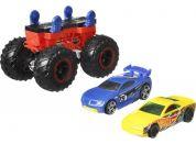 Hot Wheels Monster trucks stvořitel červeno-černý podvozek