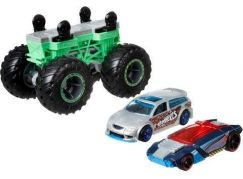 Hot Wheels Monster trucks stvořitel zeleno-šedý podvozek