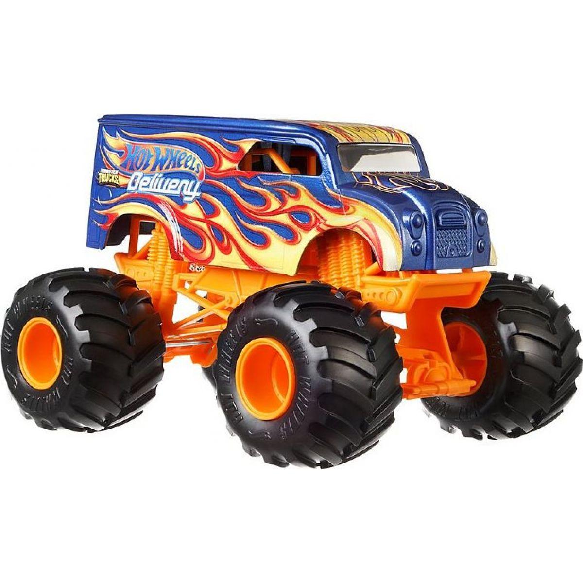 Hot Wheels Monster trucks velký truck Delivery