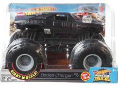 Hot Wheels Monster trucks velký truck Dodge Charger RT