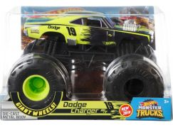 Hot Wheels Monster trucks velký truck Dodge Charger