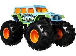 Hot Wheels Monster trucks velký truck Jeep Island