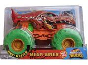 Hot Wheels Monster trucks velký truck Mega-Wrex oranžo-zelený