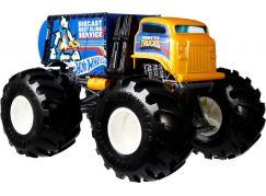 Hot Wheels Monster trucks velký truck Will Trash It All Blue