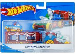 Hot Wheels Náklaďák Car-Nival Steamer