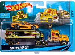 Hot Wheels Náklaďák Desert Force
