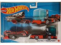 Hot Wheels Náklaďák District Transport