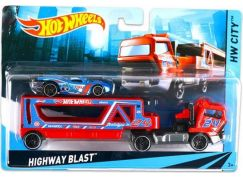 Hot Wheels Náklaďák Highway Blast