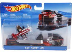 Hot Wheels Náklaďák Sky Show Rig