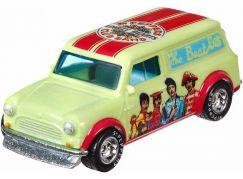 Hot Wheels prémiové auto Beatles Austin Mini Van