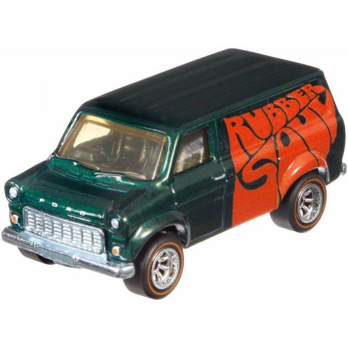 Hot Wheels prémiové auto Beatles Ford Transit Supervan